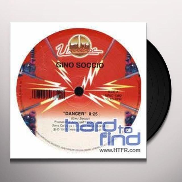 Gino Soccio DANCER Vinyl Record - Canada Import
