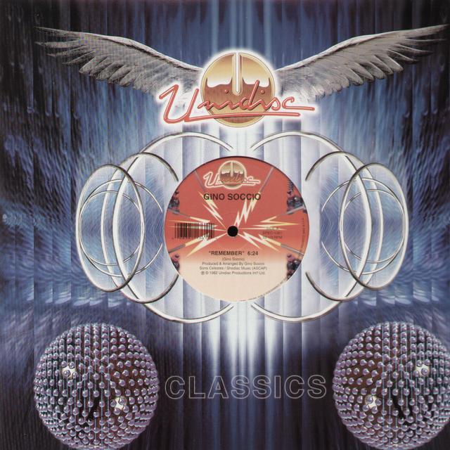 Gino Soccio REMEMBER Vinyl Record - Canada Import