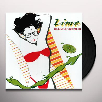 Lime MY LOVE / TAKE IT UP Vinyl Record