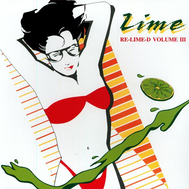 Lime MY LOVE / TAKE IT UP Vinyl Record - Canada Import
