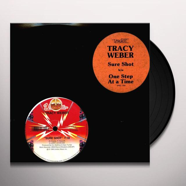 Tracy Weber SURE SHOT Vinyl Record - Canada Release