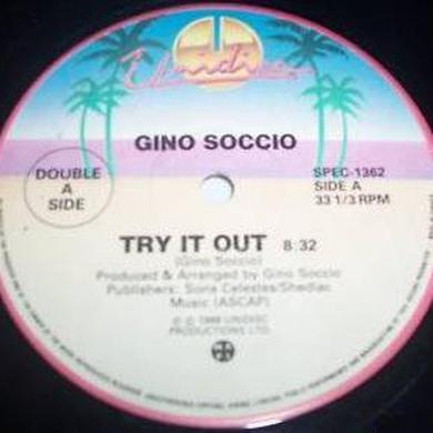 Gino Soccio TRY IT OUT / IT'S ALRIGHT Vinyl Record