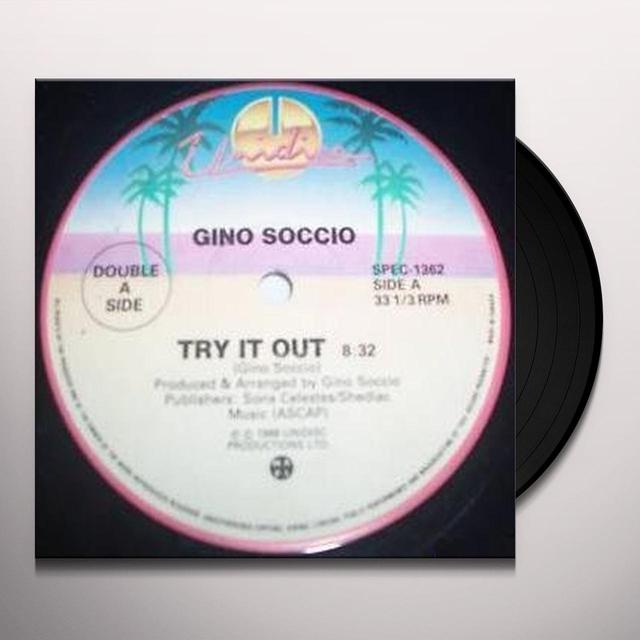 Gino Soccio TRY IT OUT / IT'S ALRIGHT Vinyl Record - Canada Import