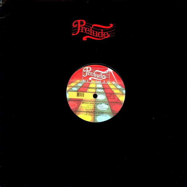Sharon Redd NEVER GIVE YOU UP Vinyl Record - Canada Release