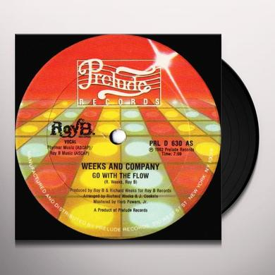 Weeks & Company GO WITH THE FLOW Vinyl Record