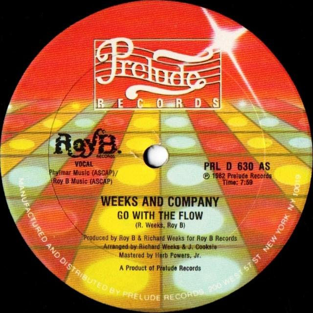 Weeks & Company GO WITH THE FLOW Vinyl Record - Canada Import