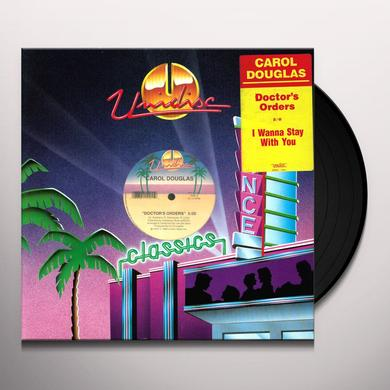 Carol Douglas DOCTORS ORDERS Vinyl Record