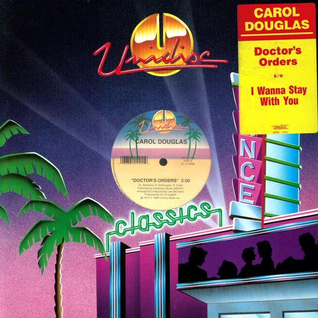 Carol Douglas DOCTORS ORDERS Vinyl Record - Canada Import