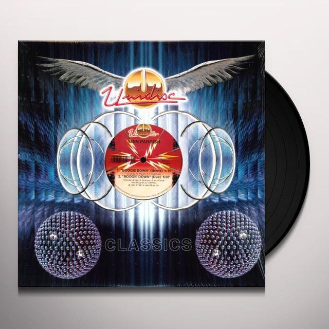 Man Parrish BOOGIE DOWN Vinyl Record
