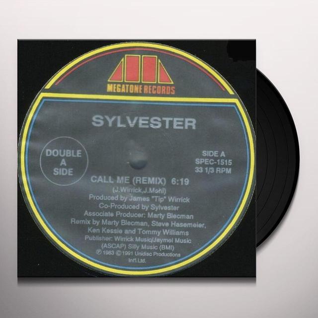 Sylvester CALL ME / GOOD FEELING Vinyl Record - Canada Import