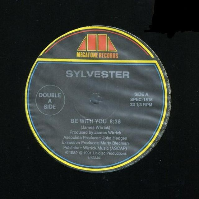 Sylvester BE WITH YOU / TELL ME Vinyl Record - Canada Import
