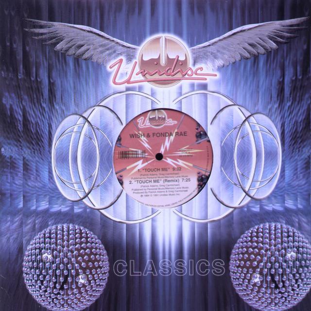 Wish & Fonda Rae TOUCH ME Vinyl Record - Canada Import