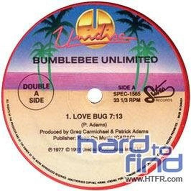 Bumblebee Unlimited LOVE BUG / EVERYBODY DANCE Vinyl Record - Canada Import