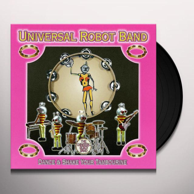 Universal Robot Band DANCE & SHAKE YOUR TAMBOURINE Vinyl Record