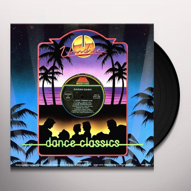 Sarah Dash LOW DOWN DIRTY RHYTHM Vinyl Record - Canada Import