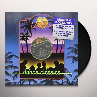 Modern Rocketry CUBA LIBRE / HOMOSEXUALITY Vinyl Record