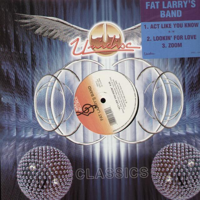 Fat Larry'S Band ACT LIKE YOU KNOW / LOOKIN FOR LOVE Vinyl Record - Canada Import