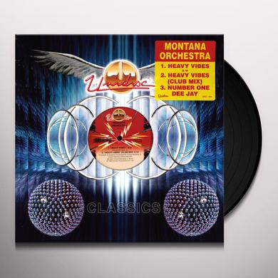 Montana Orchestra HEAVY VIBES Vinyl Record - Canada Release