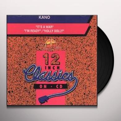 Kano IT'S A WAR / I'M READY Vinyl Record - Canada Import