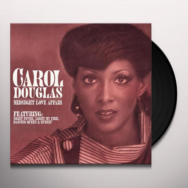 Carol Douglas MIDNIGHT LOVE AFFAIR Vinyl Record