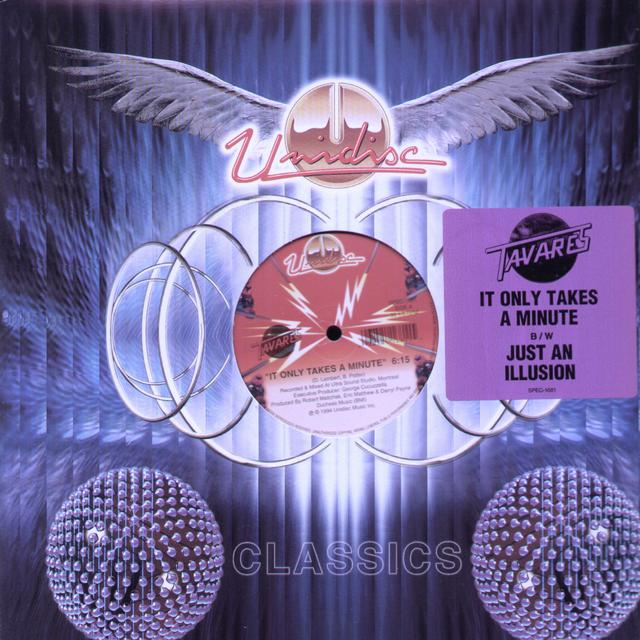 Tavares IT ONLY TAKES A MINUTE / JUST AN ILLUSION Vinyl Record - Canada Import