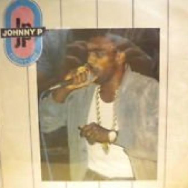 Johnny P FRONTLINE Vinyl Record