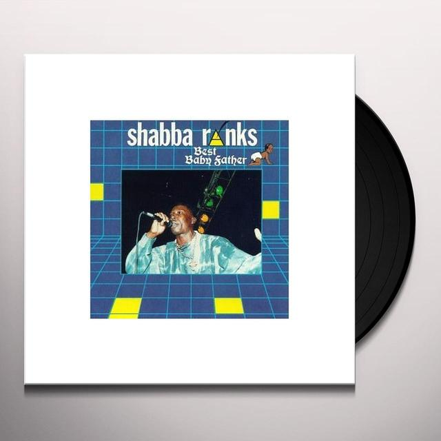 Shabba Ranks BEST BABY FATHER (Vinyl)