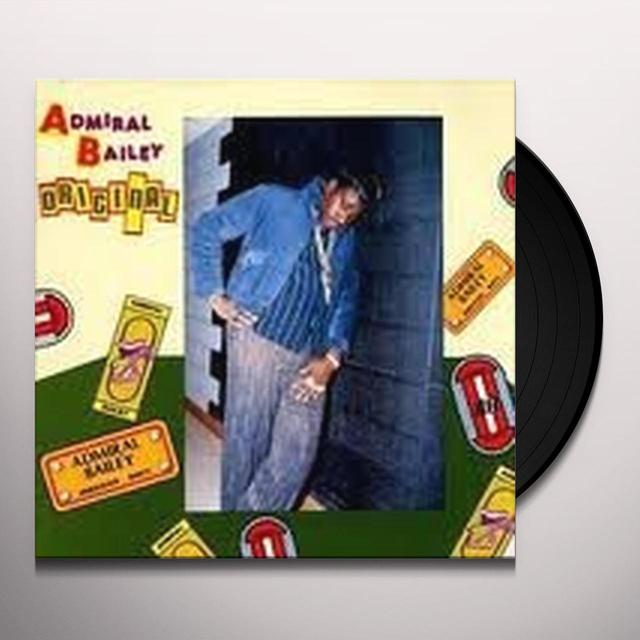 Admiral Bailey ORIGINAL Vinyl Record