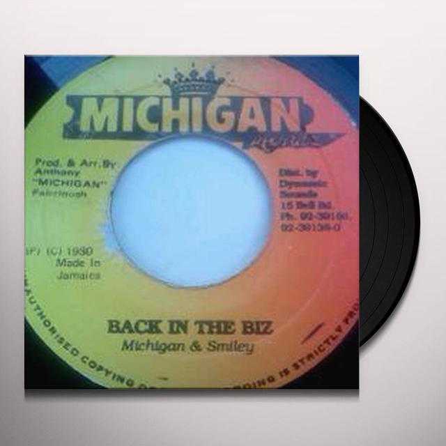 Michigan & Smiley BACK IN BIZ Vinyl Record