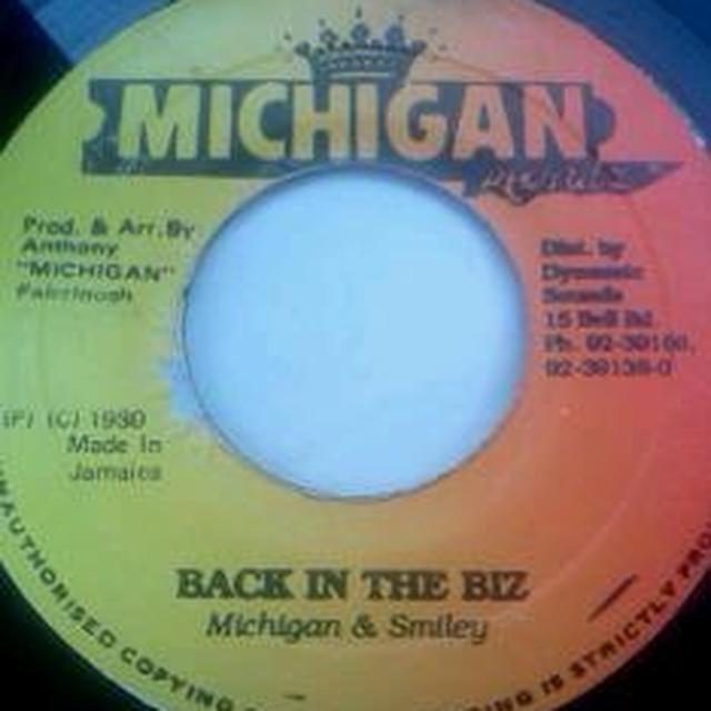 Michigan & Smiley BACK IN BIZ Vinyl Record