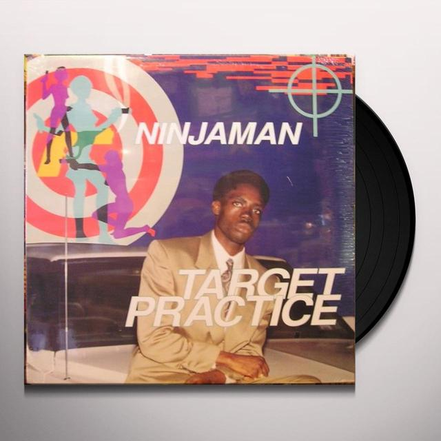 Ninjaman TARGET PRACTICE Vinyl Record