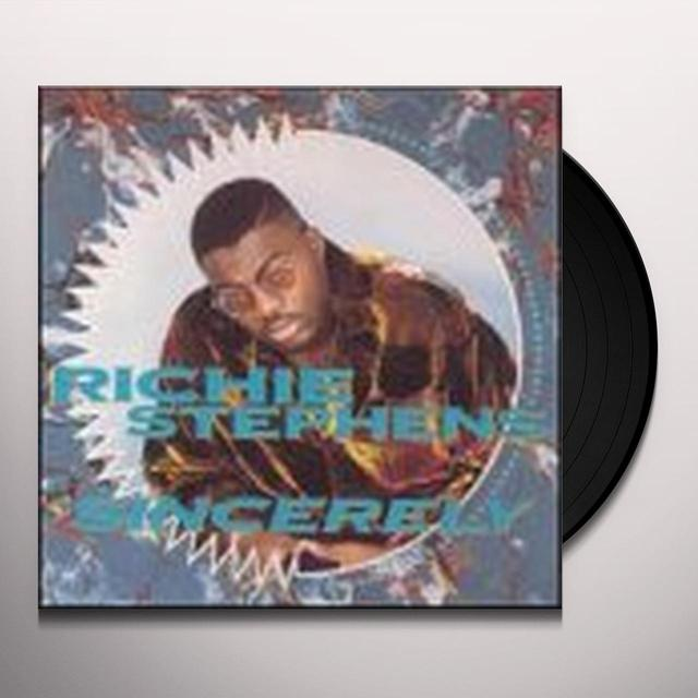 Richie Stephans SINCERELY Vinyl Record
