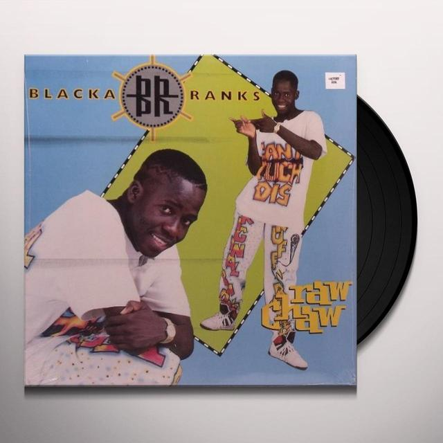Blacka Ranks RAW CHAW (Vinyl)