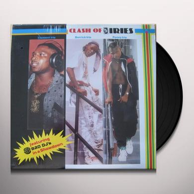 Clement Derrick Penny CLASH OF IRIES Vinyl Record