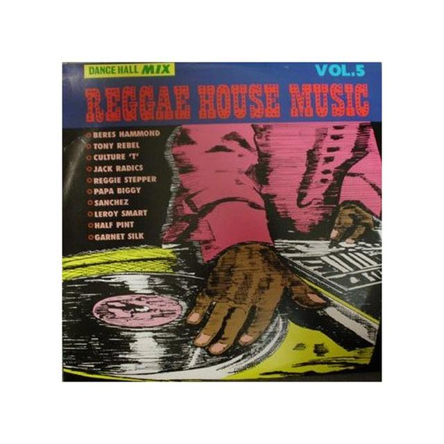 REGGAE HOUSE MUSIC 5 / VARIOUS Vinyl Record
