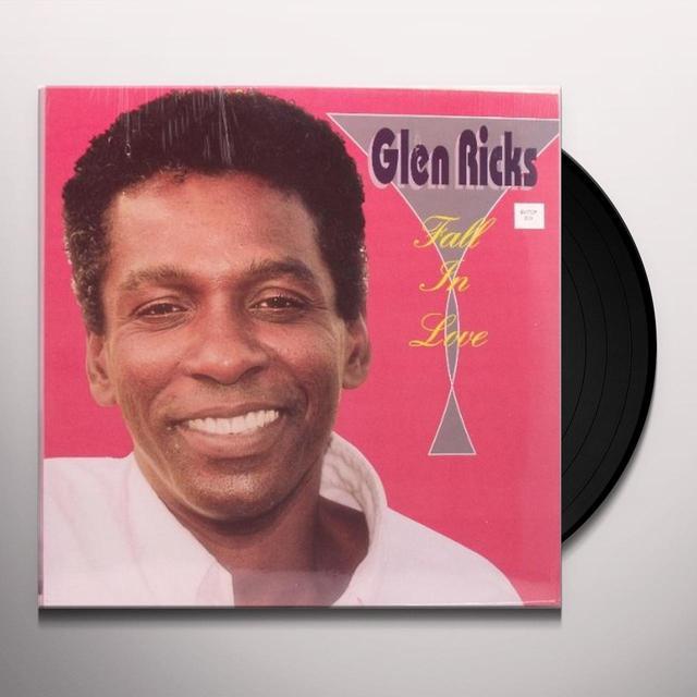 Glen Ricks FALLING IN LOVE Vinyl Record