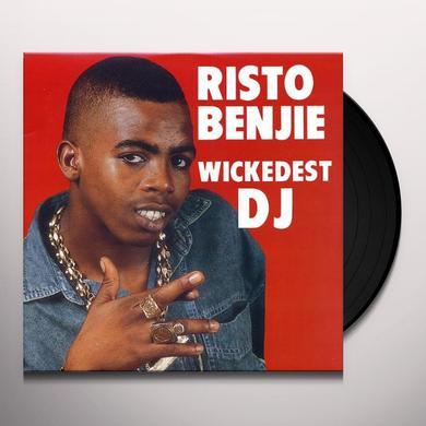 Risto Benji WICKEDEST DJ Vinyl Record