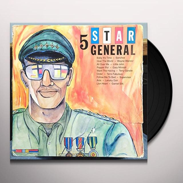 STAR STUDDED GENERAL / VARIOUS Vinyl Record