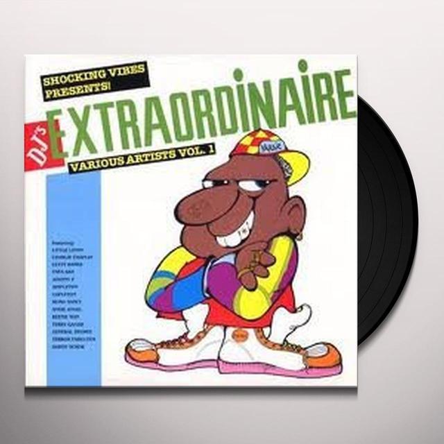 DJ'S EXTRAORDINAIRE / VARIOUS Vinyl Record