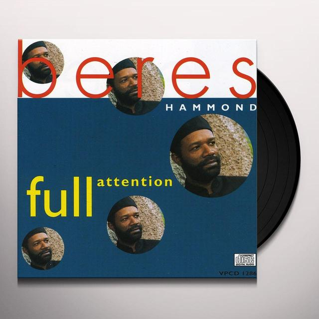 Beres Hammond FULL ATTENTION Vinyl Record