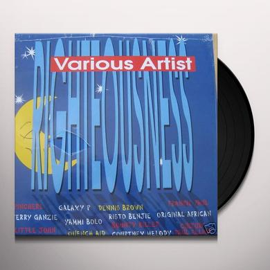 RIGHTEOUSNESS / VARIOUS Vinyl Record