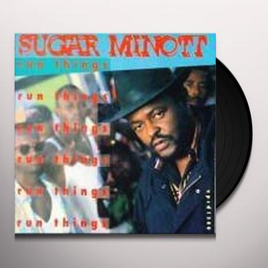 Sugar Minott RUN THINGS Vinyl Record