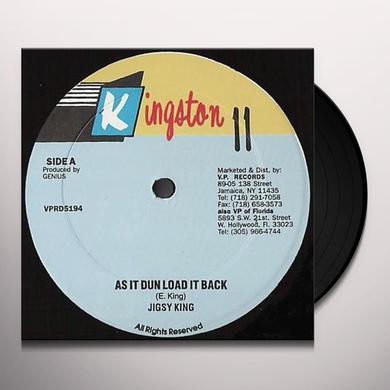 Jigsy King LOAD IT BACK Vinyl Record