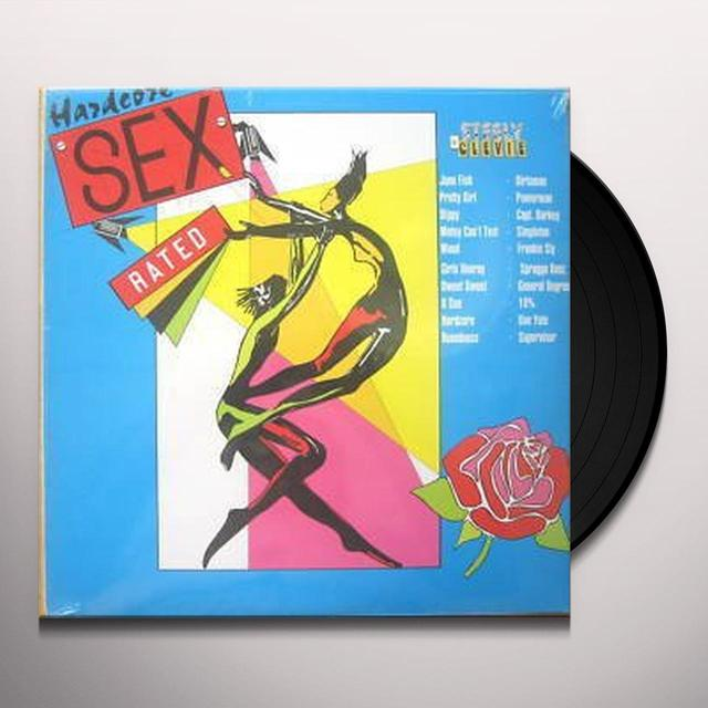 HARDCORE SEX RATED / VARIOUS Vinyl Record