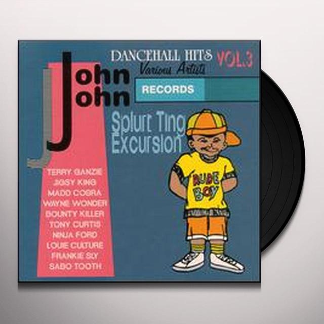 JOHN JOHN DANCEHALL 3 / VARIOUS Vinyl Record