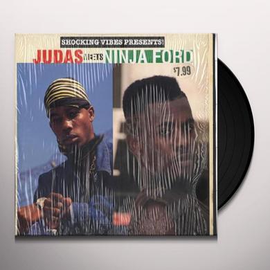 JUDAS MEETS NINJA FORD Vinyl Record
