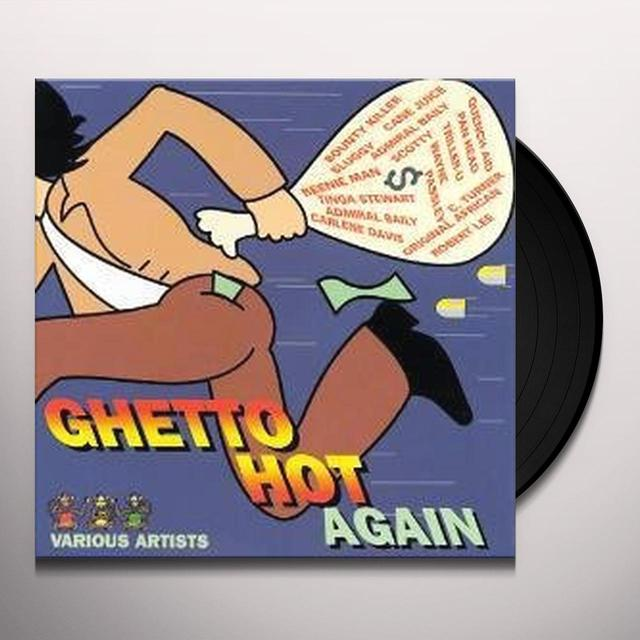 GHETTO HOT AGAIN / VARIOUS Vinyl Record