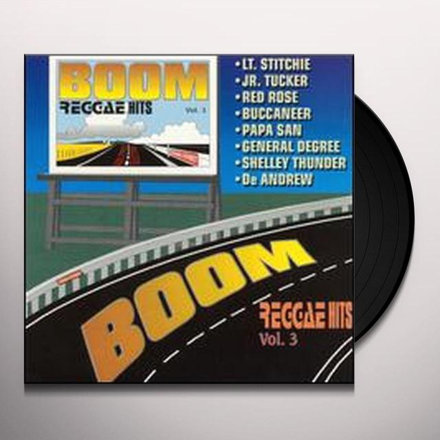 BOOM REGGAE HITS 3 / VARIOUS Vinyl Record