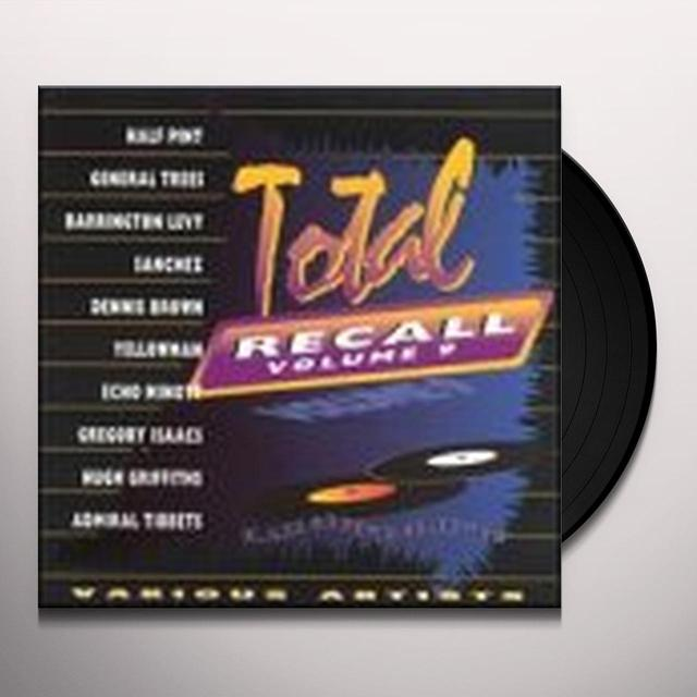TOTAL RECALL 9 / VARIOUS Vinyl Record