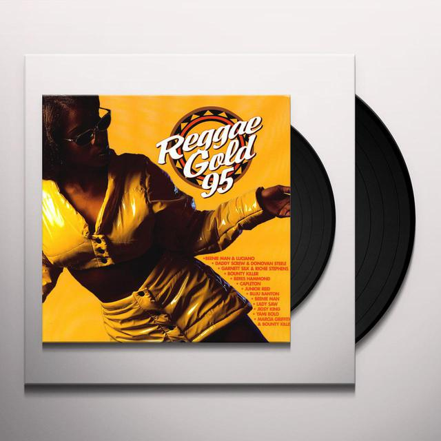 REGGAE GOLD '95 / VARIOUS Vinyl Record